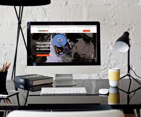 Site Chronodisk réalisé par Tell It