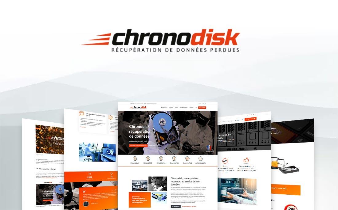 Showcase réalisation Tell It - Chronodisk