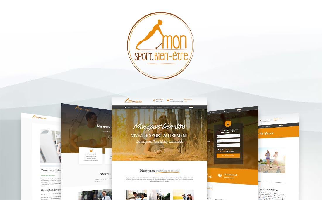 Showcase réalisation Tell It - Mon Sport Bien-être